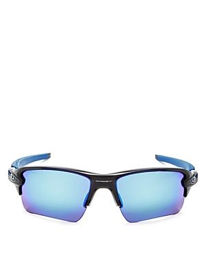 Oakley Flak 2.0 Rectangle Sunglasses, 59mm