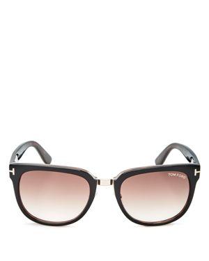 Tom Ford Rock Square Sunglasses, 55mm