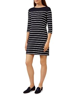 Hobbs London Bailey Striped Dress