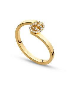 Gucci 18K Yellow Gold Running G Diamond Ring - Bloomingdale's_0