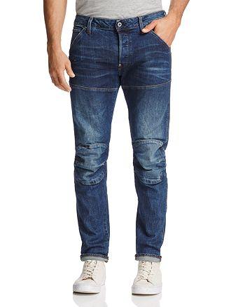 33fbcdd5 G-STAR RAW 5620 3D Super Slim Fit Jeans in Vintage Dark | Bloomingdale's