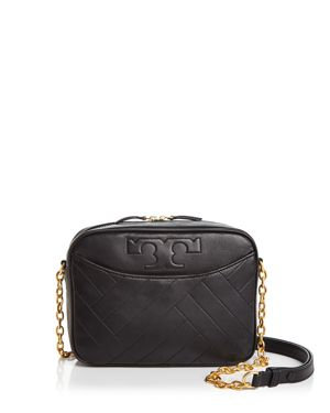 Tory Burch Alexa Leather Camera Bag