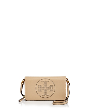 6a405f62105b UPC 190041556991 product image for Tory Burch Perforated Logo Flat Leather  Wallet Crossbody