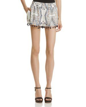 Aqua Printed Pom-Pom Shorts - 100% Exclusive