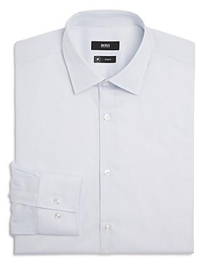 Boss Jenno Hairline Stripe Slim Fit Fresh Active Dress Shirt - 100% Exclusive