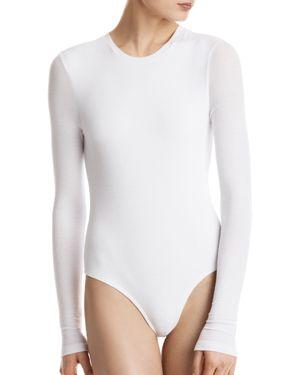 Atm Anthony Thomas Melillo Long-Sleeve Bodysuit