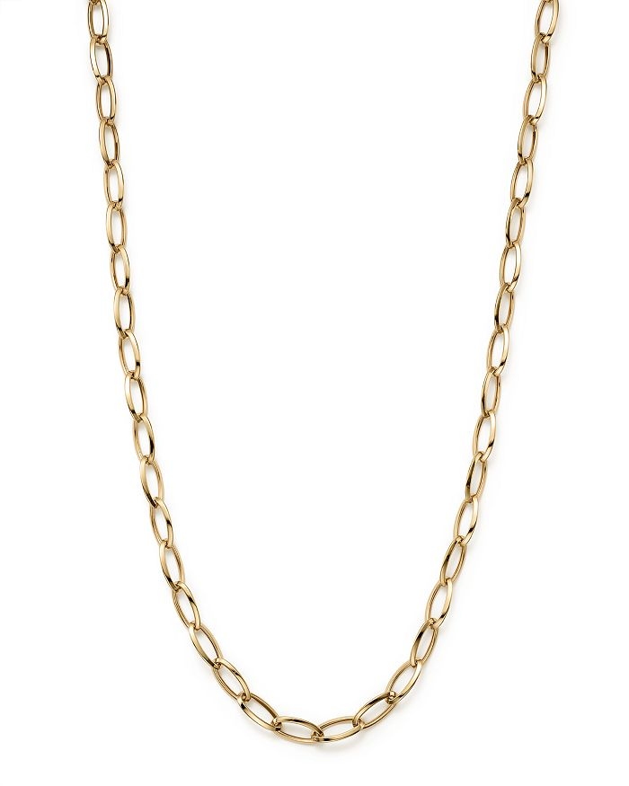 Roberto Coin - 18K Yellow Gold Long Link Chain Necklace, 31""