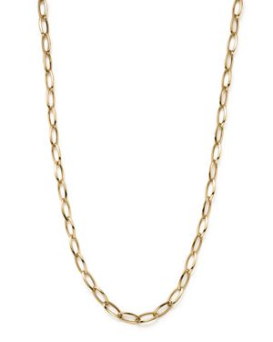Roberto Coin 18K Yellow Gold Long Link Chain Necklace, 31
