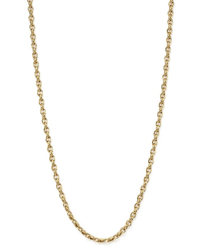 Roberto Coin - 18K Yellow Gold Link Necklace, 31""