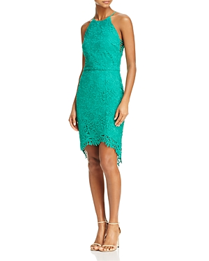Adelyn Rae Louise Lace Fishtail Dress