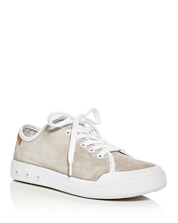 rag & bone - Women's Standard Issue Suede Lace Up Sneakers