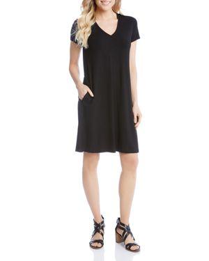 Karen Kane Quinn Pocket Tee Dress