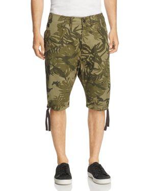 G-Star Raw Rovic Palm Print Regular Fit Shorts