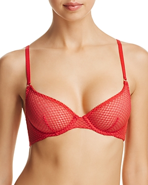 L'Agent by Agent Provocateur Addie Unlined Underwire Plunge Bra