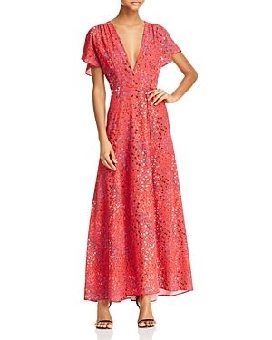 French Connection Frances Faux Wrap Maxi Dress