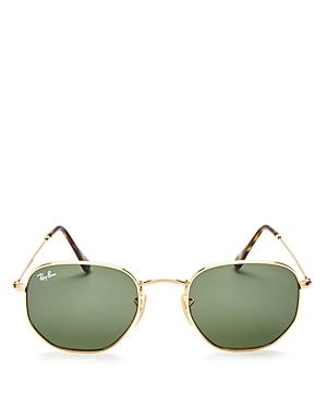 Ray-Ban Hexagonal Sunglasses, 51mm