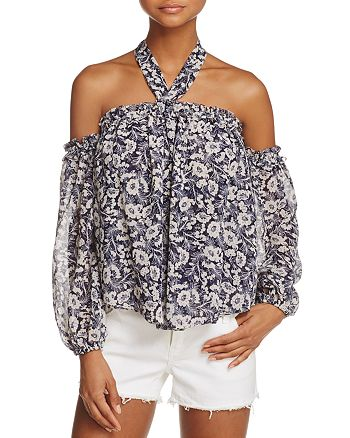 MISA Los Angeles - Lively Cold-Shoulder Top