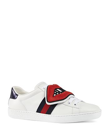 6b1ce0c08 Gucci Women's New Ace Blind For Love Sneakers | Bloomingdale's