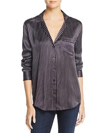 Equipment - Stripe Silk Shirt – 100% Exclusive