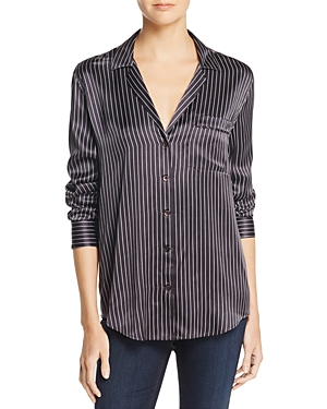 Equipment Stripe Silk Shirt 100% Exclusive