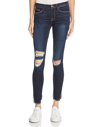 FRAME - Le Skinny Petal Hem Jeans in Andover - 100% Exclusive