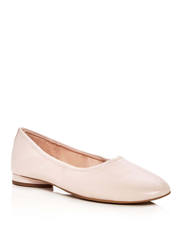 AVEC LES FILLES Women's Myrina Leather Flats