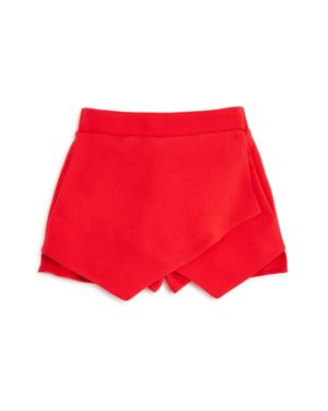 Aqua Girls' Wrap-Style Skort, Big Kid - 100% Exclusive