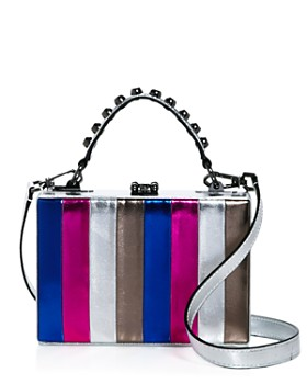 Nasty Gal - Girl Boxx Metallic Striped Crossbody - 100% Exclusive