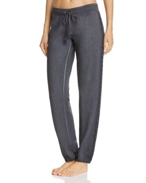 Pj Salvage Crochet-Trim Sweatpants