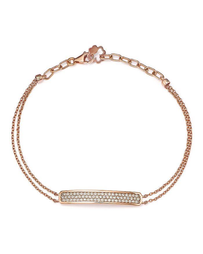 Bloomingdale's - Diamond Bar Bracelet in 14K Rose Gold, .40 ct. t.w. - 100% Exclusive