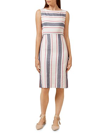 HOBBS LONDON - Summer Stripe Dress