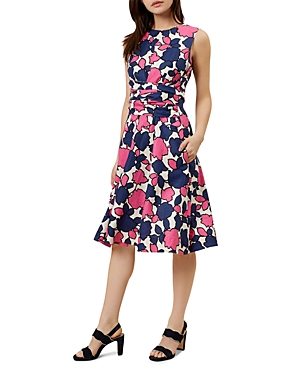 Hobbs London Colwyn Twitchill Linen Dress