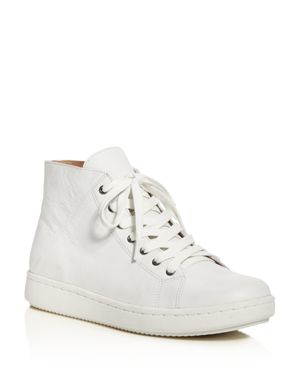 Eileen Fisher Game High Top Lace Up Sneakers
