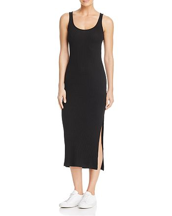 900c366355da FRENCH CONNECTION Tommy Ribbed Midi Dress | Bloomingdale's