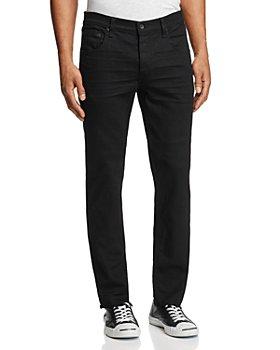 rag & bone - Fit 2 Slim Fit Jeans in Black