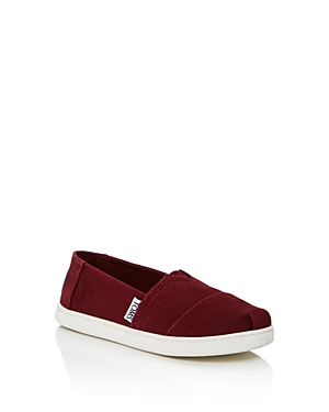 Toms Unisex Classic Canvas Slip-Ons - Toddler, Little Kid, Big Kid