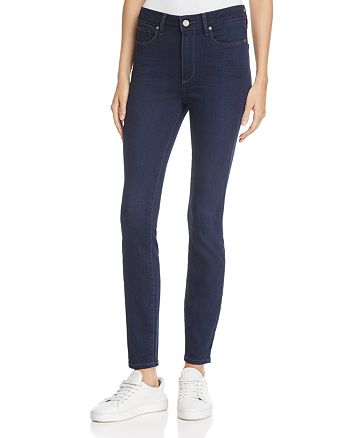 PAIGE - Hoxton Skinny Ankle Jeans in Rollins - 100% Exclusive