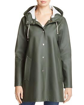 Stutterheim - Mosebacke Rubberized Hooded Raincoat