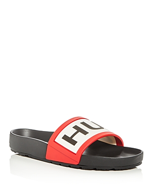 Hunter Men's Logo Pool Slide Sandals