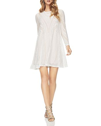 ef8047cb3e BCBGMAXAZRIA - Natyly A-Line Lace Dress