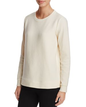 Eileen Fisher Petites Long Sleeve Ribbed-Knit Top