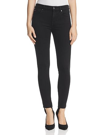 7 For All Mankind - b(air) Skinny Ankle Jeans with Stirrup