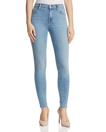 J Brand - Maria High Rise Skinny Jeans in Everlasting