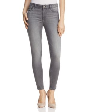 DL1961 Marguax Instasculpt Ankle Skinny Jeans in Drizzle