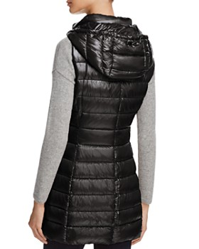 Herno - Hooded Long Down Vest