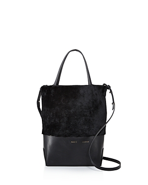 Alice.d Husky Small Shearling Tote