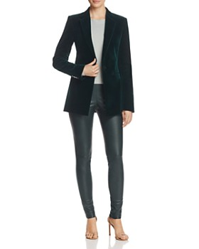 Theory - Tailored Velvet Blazer