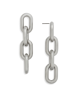 Aqua Nikita Chain Link Earrings - 100% Exclusive