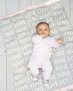 Elegant Baby - Infant Girls' Love Knit Blanket