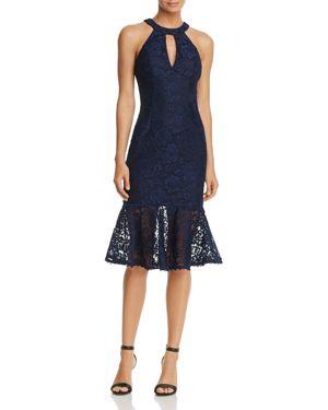Avery G Keyhole Lace Dress